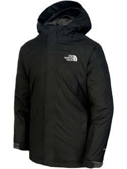 The North Face Y Snowquest Jacket Siyah Çocuk Montu T0Cb8Fjk3