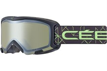 Cebe BIONIC Çocuk Ergen Mat Black Lime Yellow Flash Mirror Cat.1 Kayak Gözlüğü