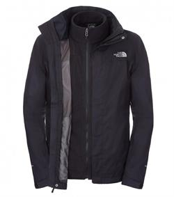 The North Face Siyah Evolve II Triclimate 3in1 Erkek Ceket T0CG55JK3